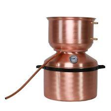 Distillatore Alambicco a fungo da 23 litri per grappa, brandy, whisky, ecc