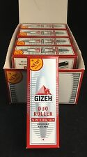 Gizeh Duo Roller - Slim/Extra Slim - Adjustable Hand Roller Box - 10 In Total !