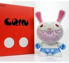 Kidrobot Apocalypse Ron English 8-inch Grin Dunny White Chase colorway