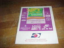1993 The Eddleman Pro Tennis Classic Tennis Program  Brook Highland Racquet Club