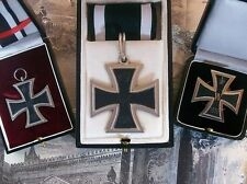 WW1 WWI Prussian Imperial German Officer Grand Knights Iron Cross 1+2. Class Set
