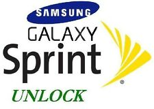 GSM SIM Unlock Sprint Samsung Galaxy S4 S5 S6 S6 edge Note 3,4,5 Android 5.0 5.1