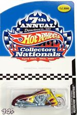 2007 Hot Wheels 7th Collectors Nationals Scorchin Scooter - NIP