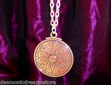 KEY OF SOLOMON TALISMAN CONSECRATED PENTACLE FOR WISDOM Occult Magic Magick