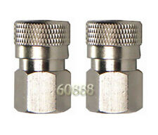 "2 x Paintball Female Quick Disconnect 1/8"" NPT adaptor"