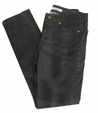 Rich And Skinny Waxed Jean Built to Spill Gray Specialty Wash Distressed Size 25