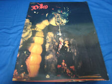 Dio 1986 Japan Tour Book Concert Program Ronnie James Dio Rainbow Black Sabbath