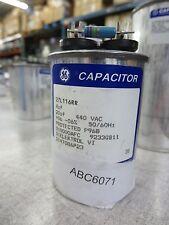GE 27L116RR 4uF 20uF 440VAC Round Capacitor New