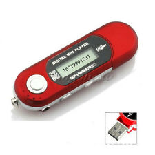 New 32GB Mp3 Wma Usb Music Player With Lcd Screen Fm Radio Voice Recorder UK