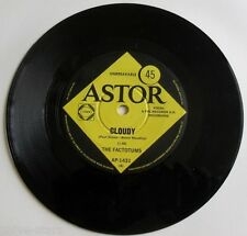 """The Factotums 7"""" 45rpm Record Single Cloudy Import 60s Rock Pop Led Zeppelin"""