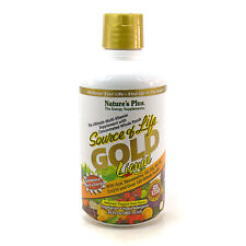 Source Of Life Gold Liquid Energy Multivitamin By Nature's Plus - 30 Ounces