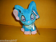 Neopets Series 7 Blue Acara Plushie, Unused Sealed Keyquest Code/Prize, New