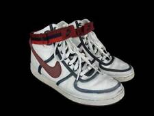 Nike Vandal High White Leather Navy Red Trim Mens 8.5 309427-163
