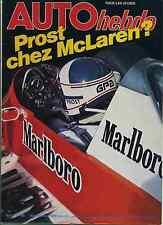 AUTO HEBDO n°190 du 15 Novembre 1979 PROST CHEZ MAC LAREN*