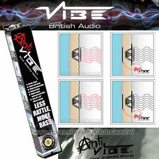 "Car Van Anti Vibe Noise Sound Proofing Deadening Material Sheet Roll 18"" x 32"""