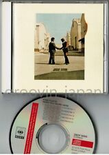 PINK FLOYD Wish You Were Here JAPAN CD 1988 issue 28DP5005 2800JPY w/12p BOOKLET