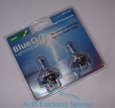 Lucas H7 477 12v 55w BLUE lightning 90 upgrade bulb x 2 ( up to 90% brighter )