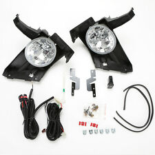 Clear Lens Driving Fog Light Kit For 2005 2006 Honda CR-V CRV w/Switch Wire Bulb
