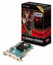 NEW SAPPHIRE ATI AMD Radeon HD 3650 512MB DDR2 AGP Video Card DVI Retail BOX