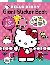 Hello Kitty: Hello Kitty: Giant Sticker Book by Roger Priddy (2015, Paperback)