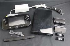 Nintendo Wii U Deluxe Set 32GB Black Console System AS-IS