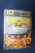 King of  the Cage UNDERGROUND WARRIORS - Wrestling DVD (Sport)