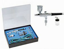 PRECISION DOUBLE ACTION GRAVITY & SUCTION SIDE FEED MODEL AIRBRUSH - AB-HS34K