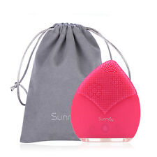 Sunmay Sonic Facial Cleansing Brush Silicone Electric Wateproof Face Massager