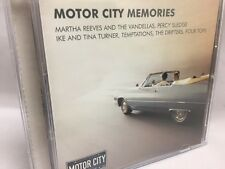 Motor City Memories CD (2004) Temptations Four Tops Drifters Ike & Tina Turner
