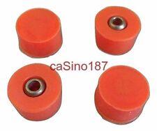 4 x Neato XV Orange Round Brush Bearings xv-11 xv-21 Essentials Signature xv-14