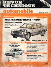 RTA revue technique automobile N° 465 MERCEDES BENZ 190 E D