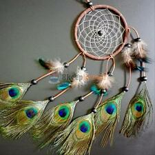 22 inch Dream Catcher Peacock Feather Car Hanging Room Wall Decor Room Ornament