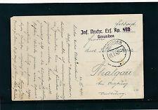 Feldpost-Karte 1940 aus Gmunden   27/3/15