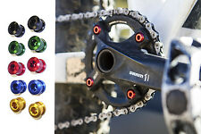 Multi-colored chainring bolts 6.5mm or 11mm
