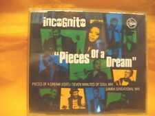 MAXI Single CD INCOGNITO Peaces Of A Dream 4TR 1994 house jazzdance