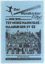 16.07.1995 TSV Nord Harrislee - Hamburger SV in Flensburg