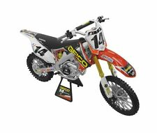 NEW RAY TOYS 1:12 SCALE KEVIN WINDHAM #14 HONDA CRF 450 R replica factory racing