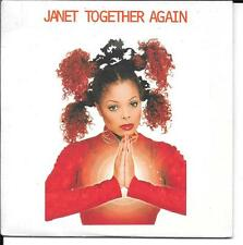 "CD 2 TITRES / 7"" SINGLE--JANET JACKSON--TOGETHER AGAIN--1997"