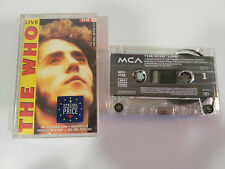 THE WHO LIVE CASSETTE TAPE CINTA MCA GERMAN EDITION 1991