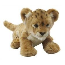 Lion Cub Soft Plush Toy Animal - Living Nature Novelty Cuddly Stocking Filler