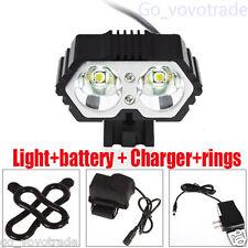Solar Storm 6000LM CREE XM_L T6 LED Bicycle BikeTorch Headlight +6400mAh Battery