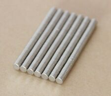 100pcs 2mm X 1mm Tiny Disc Rare Earth Neodymium N35 Permanent Strong Magnets
