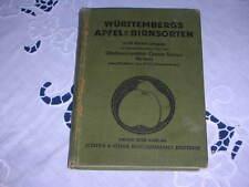 Württembergs Apfel- und Birnsorten - Gustav Schaal - um 1930