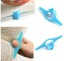 Portable Hand Held Thumb Book support Plastic Marker Support Holder Bookmarks