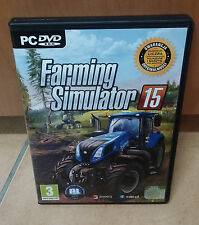 Landwirtschafts Farming Simulator 2015/15 Symulator Farmy PC PL Polnisch BOX DVD