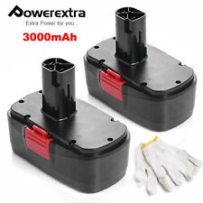 2 Pack 3.0AH 19.2V Volt Battery for Craftsman C3 11375 130279005 Cordless Drill