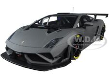 LAMBORGHINI GALLARDO GT3 FL2 2013 MATT GREY 1/18 MODEL CAR AUTOART 81360
