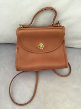 Vintage Coach Leather Crossbody Brown GUC