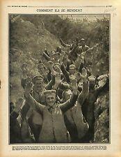 Prisoner Soldiers Deutsches Heer Berny-en-Santerre Bataille de la Somme 1916 WWI