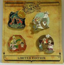 Walts Classic Collection Sleepy Hollows Headless Horseman Ichabod 4 LE Pin Set